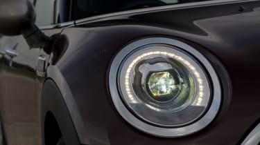 MINI Clubman - front light detail