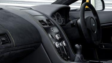Aston Martin V12 Vantage S 2016 - interior