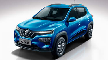 Renault City K-ZE - front blue