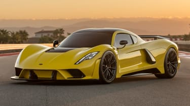 Fastest production cars in the world - Venom F5