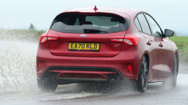 Ford Focus ST automatic - rear action
