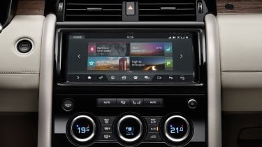 Land Rover Discovery 2017 - official incontrol touch pro