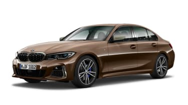Leaked BMW 3 Series - front brown