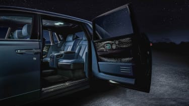 Rolls-Royce Phantom Tempus - interior rear