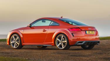 Audi TT Coupe - rear static