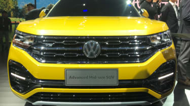 Volkswagen Advanced SUV front grille