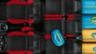 Fiat Doblo 2015 - cabin seats