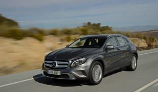 Mercedes GLA diesel 2014 tracking