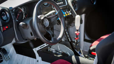 Nissan GT-R 1,390bhp drift car - interior