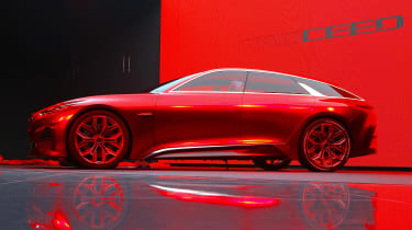 Kia Proceed concept - Frankfurt side