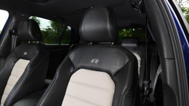 Volkswagen Golf R Performance Pack - front seats