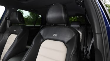 Volkswagen Golf R Performance Pack - front seats