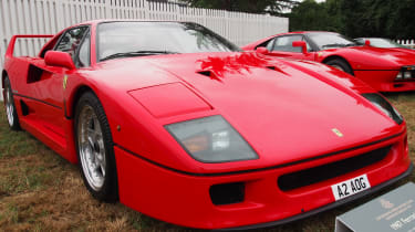 Ferrari F40 - Goodwood front