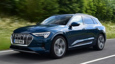 Audi e-tron 55 quattro second report - front action