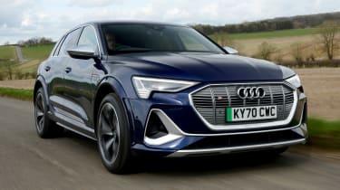 Audi e-tron S - front