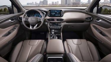 New Hyundai Santa Fe - dash