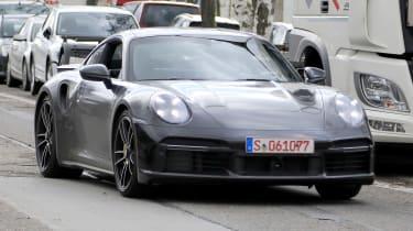 Porsche 911 Turbo S - spyshot 9