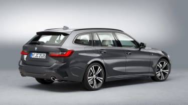 BMW 3 Series Touring - studio rear