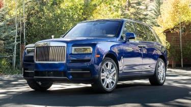 Rolls-Royce Cullinan - front static