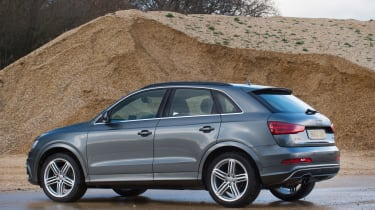Used Audi Q3 - rear