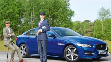 Jaguar XE Long term test - country and city header