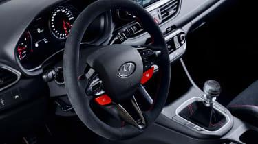 Hyundai i30 N Project C - steering wheel