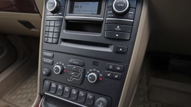 Used Volvo XC90 - centre console