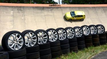 Summer tyre test
