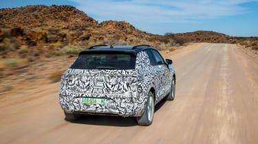 Volkswagen T-Roc prototype - rear tracking