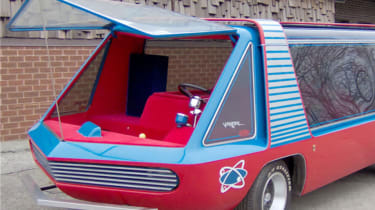 George Barris Supervan - front three quarter crop