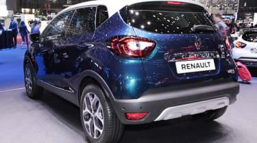 Facelifted Renault Captur Geneva - rear