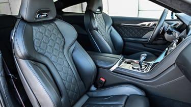 BMW M8 - front seats