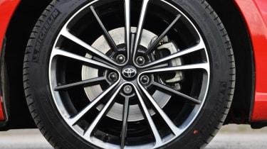 Toyota GT 86 gear wheel detail