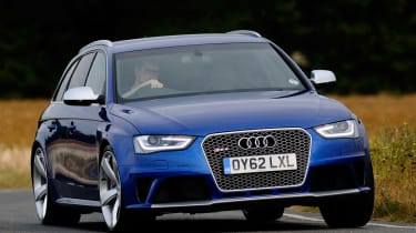 The Audi RS4 is one of a long line of fast Audi estates.