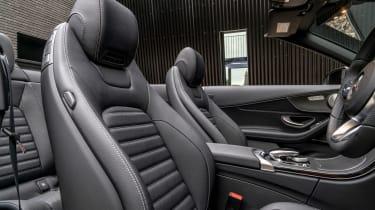 Mercedes C-Class Cabriolet - front seats
