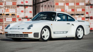 RM Sotheby's 2017 Paris auction - 1988 Porsche 959 Sport front