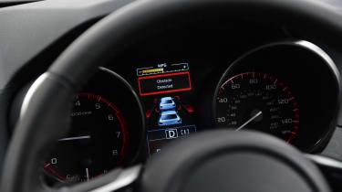 Subaru Outback - controls