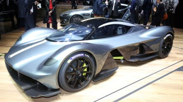 Aston Martin Valkyrie Geneva - front static