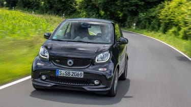 Smart ForTwo Brabus 2016 - front tracking 3