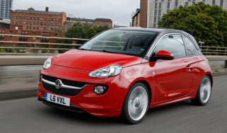 Vauxhall Adam front tracking