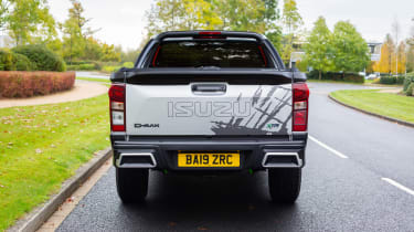 Isuzu D-Max XTR - rear static