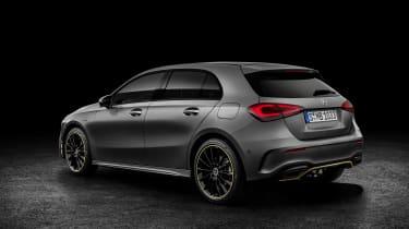 New Mercedes A-Class - studio rear static