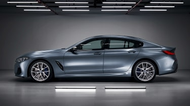 BMW 8 Series Gran Coupe - side
