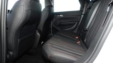 Peugeot 308 SW - rear seats