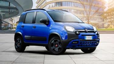 Fiat Panda Waze static front