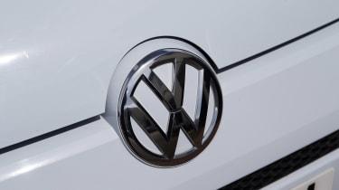 Used Volkswagen up! - Volkswagen badge