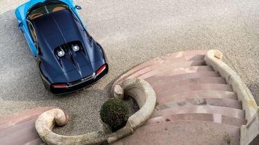Bugatti Chiron 2016 - Rear Shot From Above