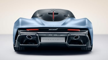McLaren Speedtail - full rear