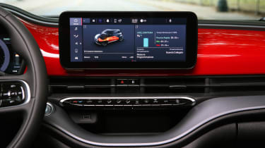 Fiat 500(RED) - infotainment