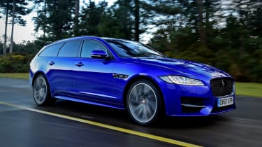 Jaguar XF Sportbrake - front